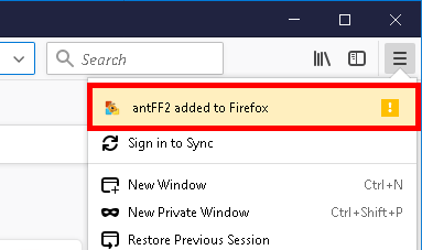 How to install Ant Download Manager (AntDM) addon to Firefox. Step #2.